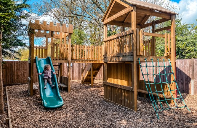 Play area at The Palmers Arms