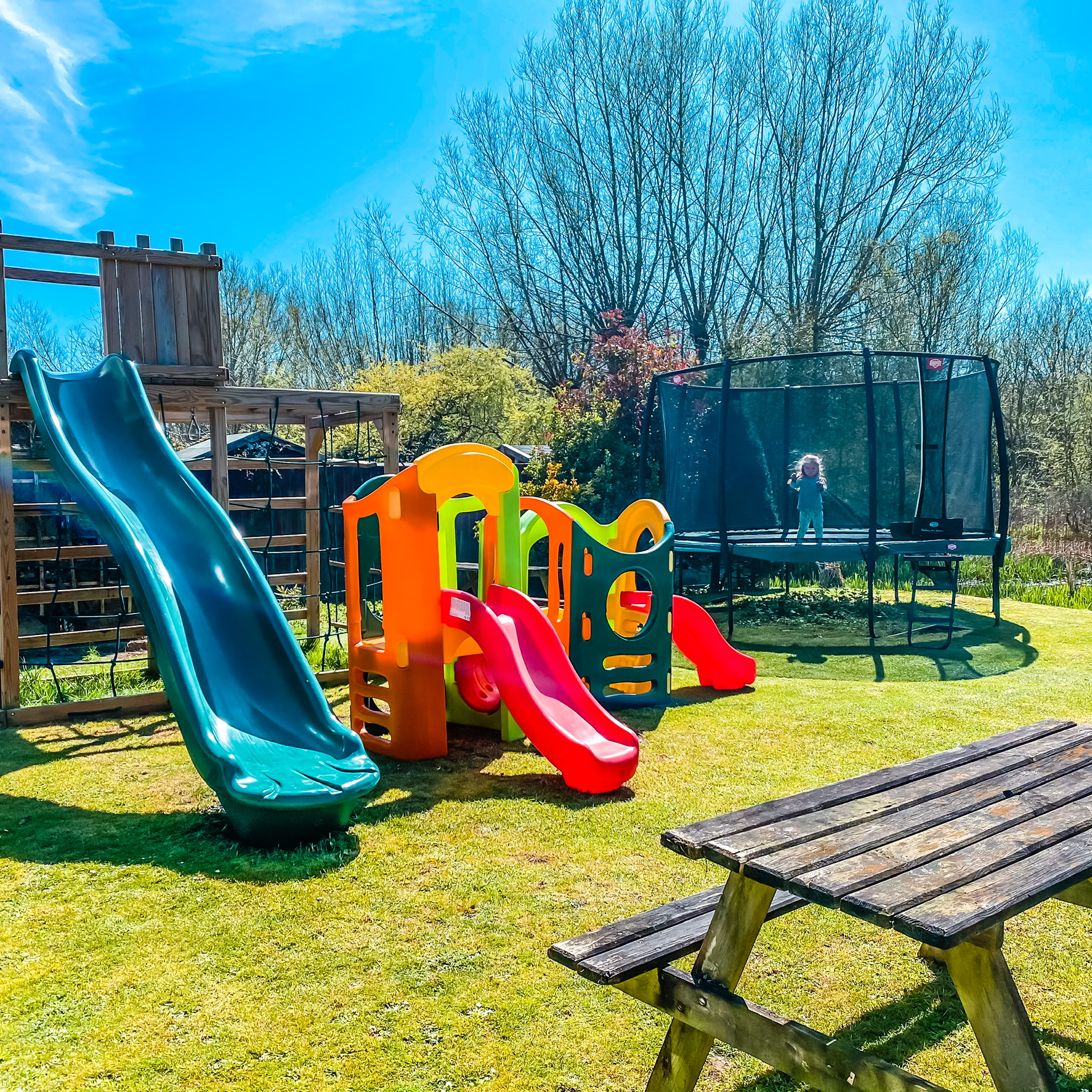 Play area at The Pheasant in Chesham