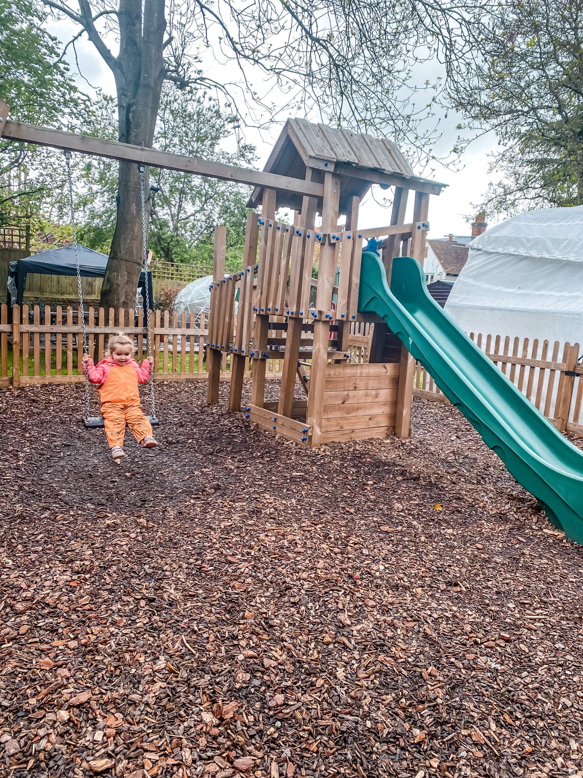 Playground at Gray's Inn in Wooburn Green
